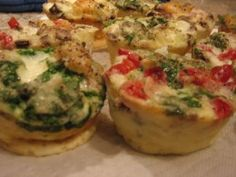 South Beach Diet-Friendly Breakfast To Go: Mini Egg Cup Frittata Recipe