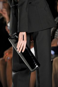 Chado Ralph Rucci - Spring 2013 - and I always love all black.....even in Spring.
