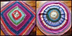 Tapetes lana reciclada $1.500 cada uno. <3