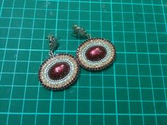 Here's my free video tutorial for paper base earrings. Excuse the lighting and enjoy the video. Tada! https://youtu.be/tAa0c3TZJv8