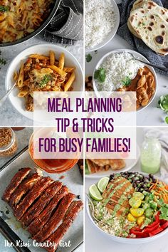 A few handy meal planning tips, tricks and ideas to get you started on the path to being more organised and feeding your family healthy and easy meals on a budget. Healthy Recipes On A Budget, Budget Meals, Easy Dinner Recipes, Cooking Recipes, Cooking Tips, Quick Weeknight Dinners, Easy Meals, Kid Meals, Simple Meals