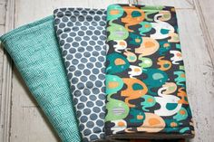 FREE SHIPPING Gender Neutral Baby Burp Cloths by HiHoSilverSpoon, $21.95
