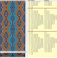 38 tarjetas hexagonales, 5 colores, repite cada 20 movimientos // sed_587_c6 diseñado en GTT༺❁