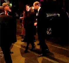 William and Kate arrive in NYC. 12/7/14.