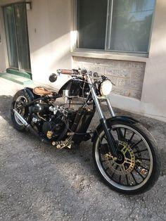 Honda Bobber, Bobber Bikes, Honda Cb750, Bobber Motorcycle, Bobber Chopper, Triumph Motorcycles, Custom Motorcycles, Custom Bikes, Regal Raptor