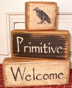 Primitive decorating :)