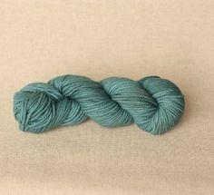 Swans Island Fine Verdigris Color Yarn