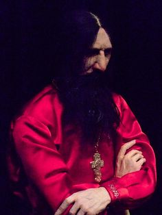 Grigori Rasputin. Okay, look at the pix of Saruman on this board. Very similar in looks and character. ...
