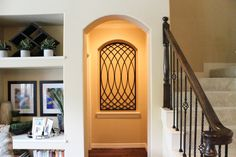 IMG_9892 Window Treatments, Home, Niche Decor, Interior, House, Beautiful Homes, Modern, Wrought Iron, Faux Iron