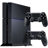 PS4 500GB Console with Extra DualShock 4 Controller