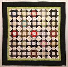 necktie quilt -- Karen's Memory Quilt by Patchwork Memories, via Flickr