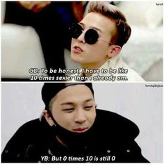 That time Taeyang roasted GD