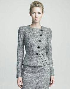 """Inspiration - Armani - Collezioni Structured Jacket Fall Olivia Pope, Scandal, Episode """"Top of the Hour"""" Office Fashion, Work Fashion, Fashion Outfits, Fashion Fashion, Olivia Pope Style, Olivia Pope Outfits, Scandal Fashion, Corporate Wear, Power Dressing"""