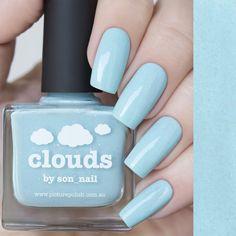 nail polish clouds