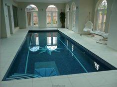 contemporary modern minimalist outdoor pool - interior design