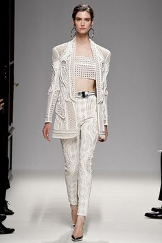 Spring 2013 Ready-to-Wear  Balmain  Manon Leloup  (MARILYN)