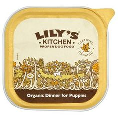 Lily's Kitchen Organic Dinner for Puppies Tray 11 x 150g