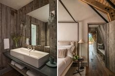 The barn bedroom and bathroom design - Home Decorating Trends - Homedit
