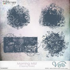 Morning Mist [Clipping Masks] by Vero