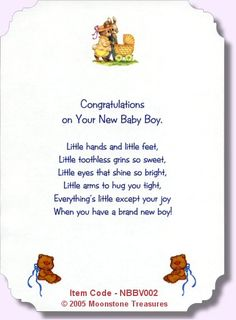 New Baby Boy Card Verses -->Read the Bible online at: http://www.biblegateway.com
