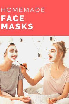 Homemade face masks.