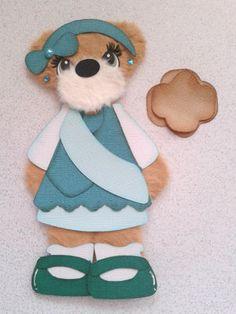 Brownie Scout Girl Kids Summer Spring Tear Bear Kira AP4P | eBay