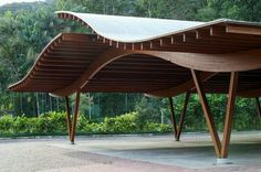 ideas wood architecture model for 2019 Wooden Architecture, Pavilion Architecture, Organic Architecture, Landscape Architecture, Interior Architecture, Folding Architecture, Residential Architecture, Contemporary Architecture, Timber Structure