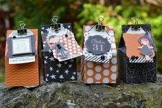 Pebbles Inc: Halloween Treat Boxes {Thirty-One}