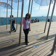 Κάτω από τις ομπρέλες του Ζογγόπουλου #thessaloniki