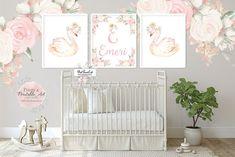Baby Nursery Decor, Girl Nursery, Nursery Ideas, Pink Forest, Floral Printables, Vintage Carnival, Gold Crown, Peony, Ethereal