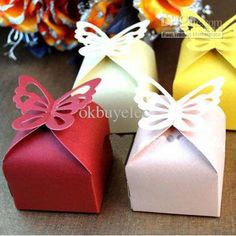 Wholesale Wedding Favor Butterfly Candy Boxes Bridal Party Gifts Packing Jewelry Boxes, Free shipping, $0.24-0.28/Piece | DHgate