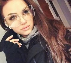 Mykie from Glam and Gore wearing glasses