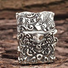 Japanese Handicraft Master Tibetan Silver Crazy Pig Zippo Lighter  www.kingzendo.com