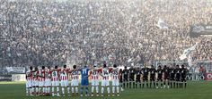 PAOK FC - Olympiacos 2009-2010, Playoffs, 1-0 One Team, Fans, Soccer, City, Places, Sports, Football, Hs Sports, Futbol