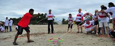 Outbound di Bali dengan pilihan lokasi di Pantai Tanjung Benoa bisa dikombinasikan dengan wisata air atau permainan water sport, karena di Pantai Tanjung Benoa ini terkenal dengan wisata air atau permainan water sport seperti Jet Sky, Parasailing, Banana Boat, Flying Fish dan permainan lainya