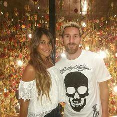 Leo Messi con Antonella Roccuzzo
