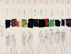 """Yves Saint Laurent 1971, la collection du scandale"" à la fondation Pierre Bergé"