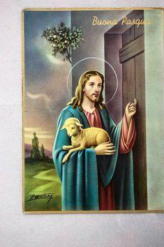C39 Cartolina Postcard Immagine Resurrezione Agnello Buona Pasqua Gesu' 1970 - EUR 1,44. matteomercuri77 Store COLLOCAZIONE SEZIONE C39. FINO A 5 CARTOLINE PAGHERETE COME 1 SPEDIZIONE IN ITALIA. FINO A 10 CARTOLINE PAGHERETE COME 2 SPEDIZIONI IN ITALIA. GUARDATE BENE LA FOTO E NON ESITATE A CONTATTARCI. Creato da Turbo ListerStrumento gratuito per mettere in vendita i tuoi oggetti. Metti in vendita i tuoi oggetti in modo facile e veloce e gestisci le inserzioni in corso. 400354920865