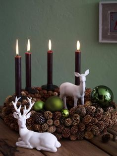 DIY Advent Wreath Ideas (8)