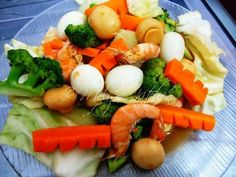 Mely's kitchen: Chop Suey with Shrimps