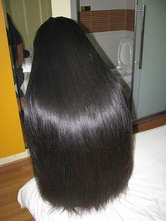 Do you need hair care tips? Hairstyle Down. Long Straight Black Hair, Long Dark Hair, Long Black, Indian Long Hair Braid, Braids For Long Hair, Epic Hair, Glossy Hair, Natural Hair Styles, Long Hair Styles