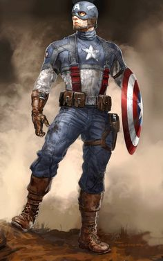 redcell6:  Captain America by Ryan Meinerding