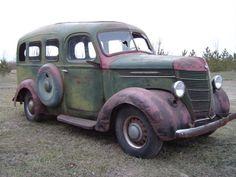 1938 International Stationwagon Project Car For Sale