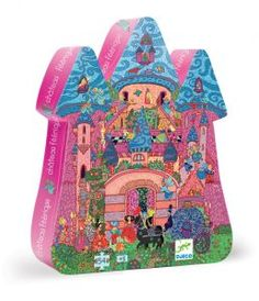 Great gifts for 4 - 6 year olds: Djeco make great puzzles for kids including this 54 piece Fairy Castle Floor Puzzle - suitable for ages five and over. The packaging is beautiful, making it perfect for a gift.