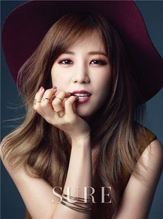 A Pink's Chorong becomes the first celebrity beauty editor for 'Sure' magazine! | allkpop.com