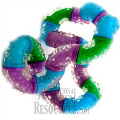 The Tangle Therapy is National Autism Resources most popular fidget with Junior High and High School kids on the spectrum.