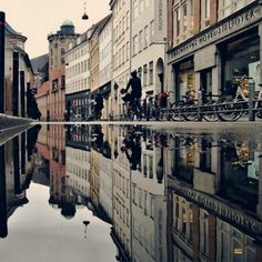 denmark reflection copenhagen