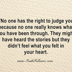 No one knows but you.