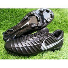 best sneakers 23c65 bf5fa Nike Tiempo - Beste 2017 Nike Tiempo Legend VII FG Zwart Voetbalschoenen