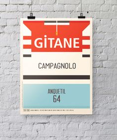 Iconic Cycling Jerseys Prints by Neil Stevens, via Behance #cycling #prints #graphic